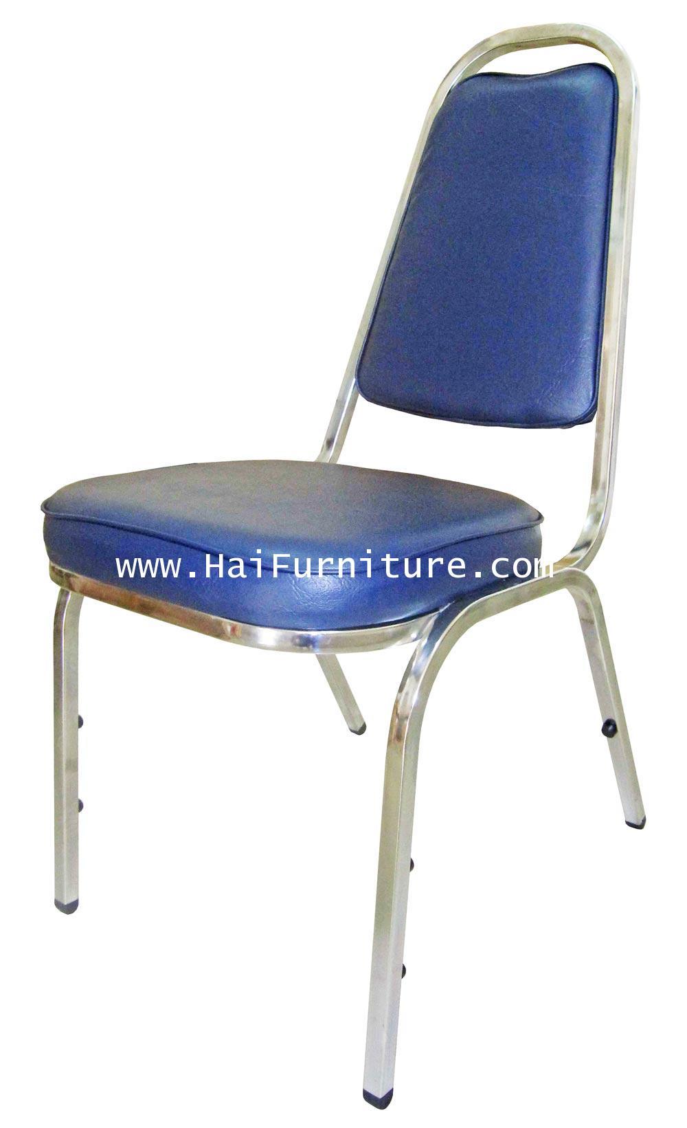 เก้าอี้จัดเลี้ยง มาตรฐาน เหล็กชุบโครเมี่ยม