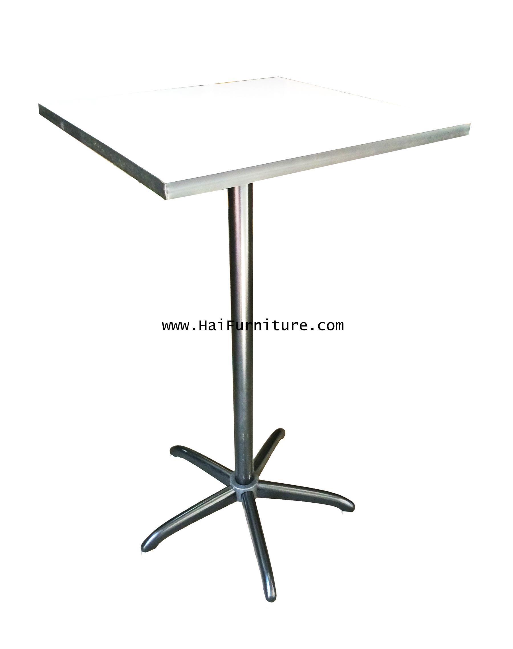 โต๊ะบาร์สี่เหลียมจตุรัส 60*60*110 ซม.