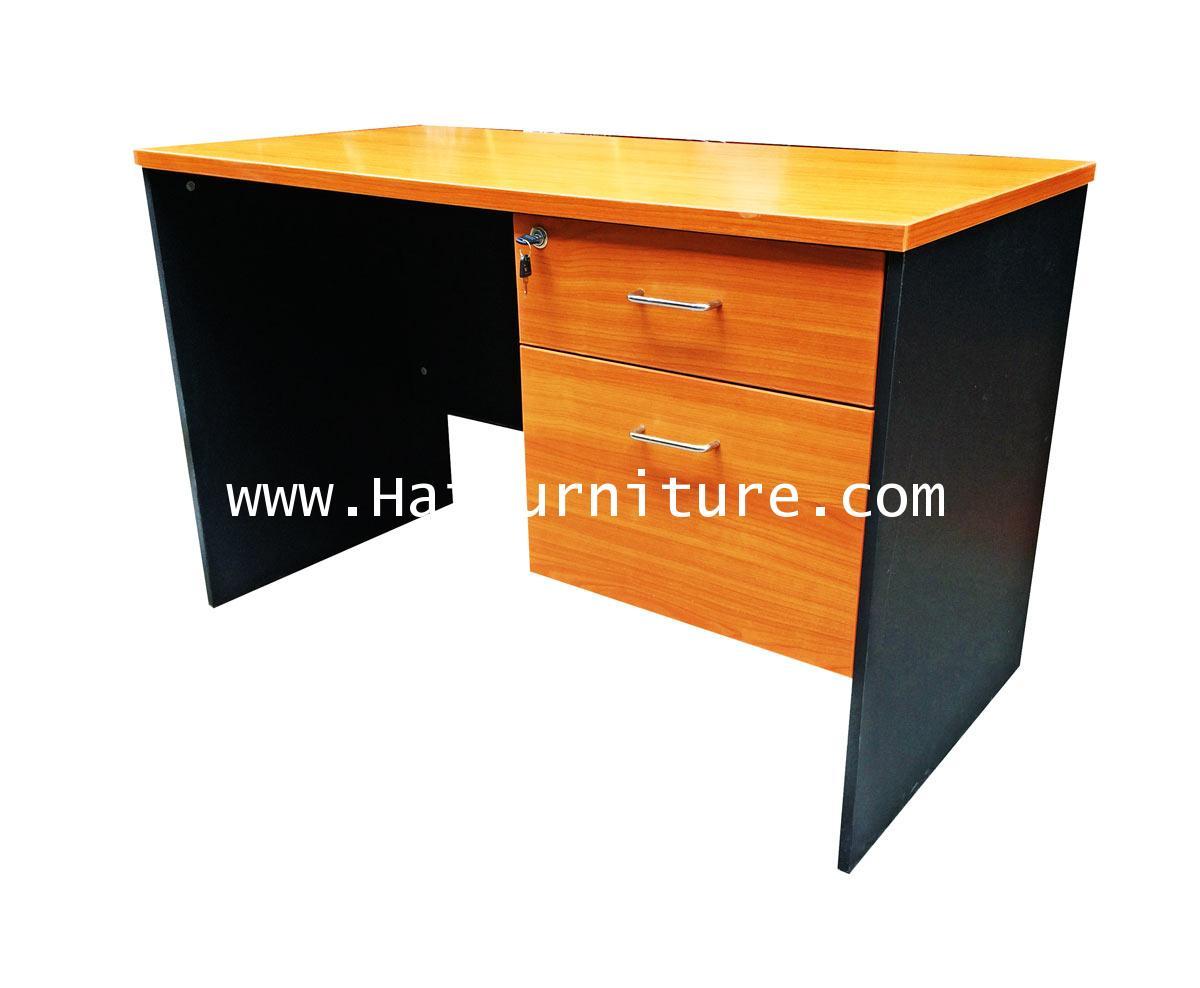 โต๊ะทำงาน หน้าเมลามีน 120*60*75 ซม.