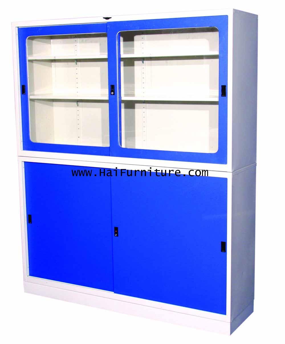 ชุดตู้บานเลื่อน 5 ฟุต Elegant 152.30*40.6*185.6 ซม.