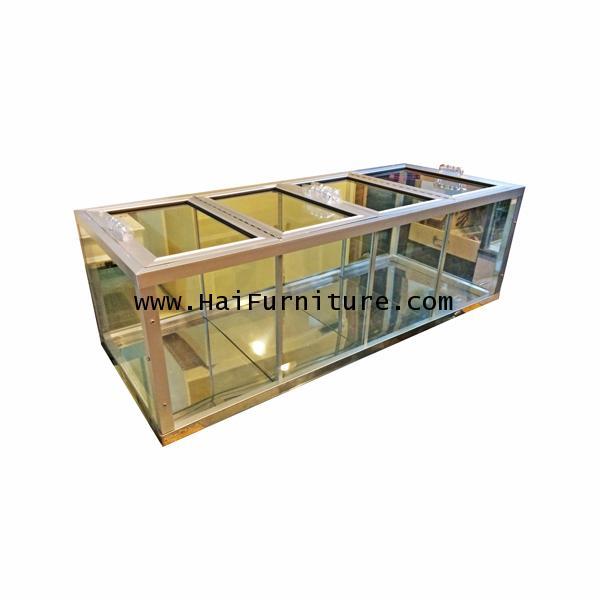 ตู้ขายผลไม้ อลูมิเนียม 93.5*40*31 ซม.
