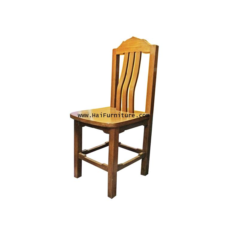 เก้าอี้ไม้สักทอง 1980