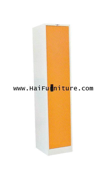 ตู้อเนกประสงค์ 1 บานเปิดเหล็ก LK-1S Elegant 40*45.8*183 cm