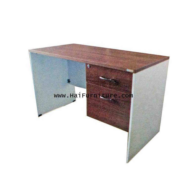 โต๊ะทำงานเมลามีน (ทั้งตัว) DS-002 120*60*75 ซม.