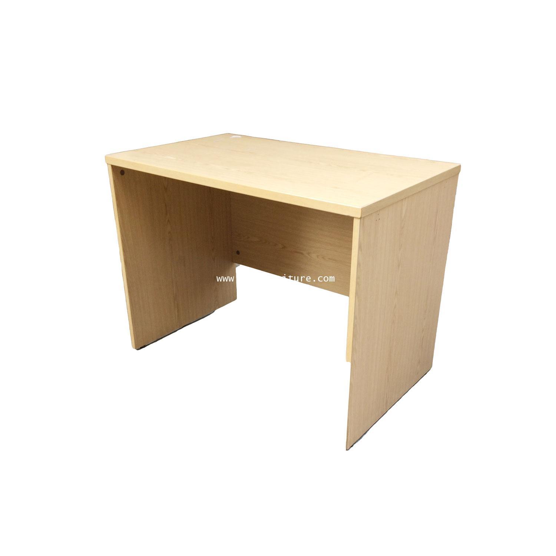 โต๊ะทำงาน เมลามีน โล่ง 100*60*75 ซม.