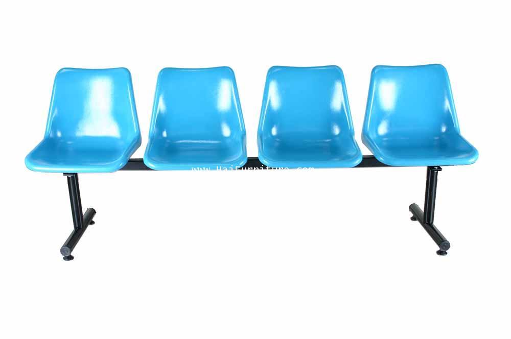 เก้าอี้แถว โพลี 4 ที่นั่ง MO-175 Elegant 200*54*79 cm