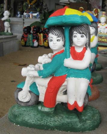 ตุ๊กตาเด็กขี่มอเตอร์ไซ (ราคา ไม่รวมค่าจัดส่ง)