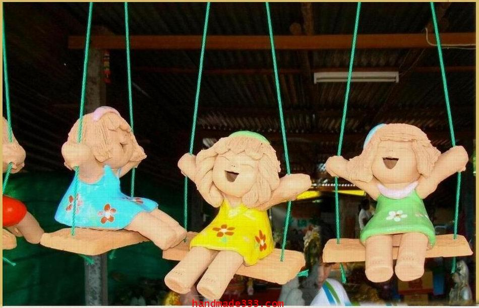 ตุ๊กตานั่งชิงช้า (ราคาตัวละ ไม่รวมค่าจัดส่ง)