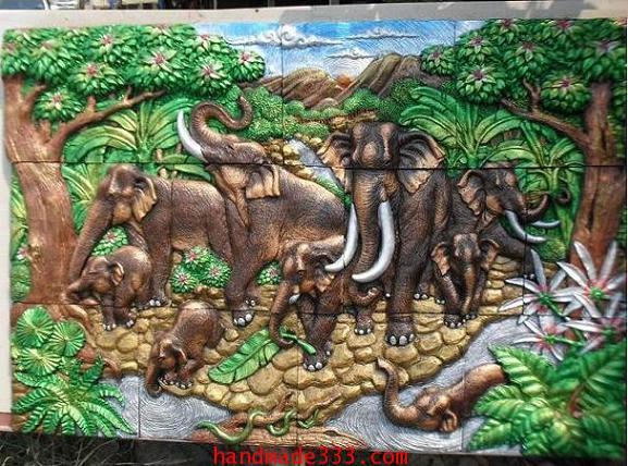 ช้าง 9 เชือก