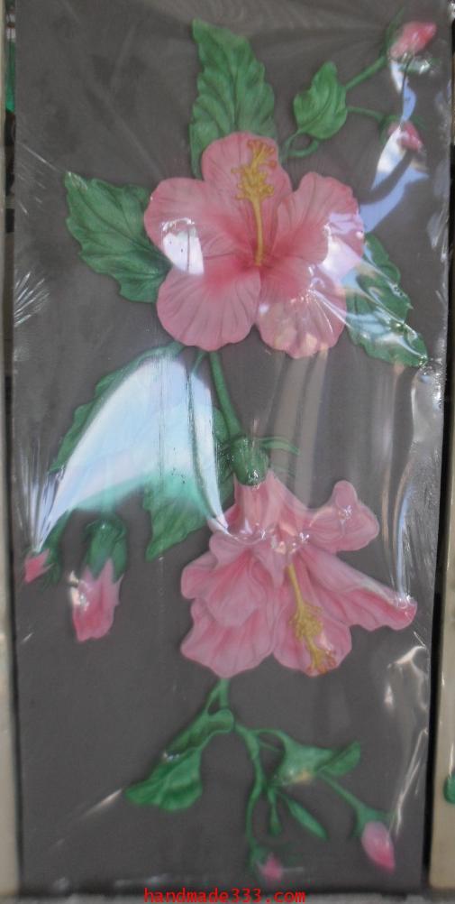 ดอกชบา (85x40 ซม.)