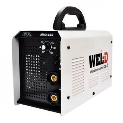 เครื่องเชื่อม WEL-D รุ่น MMA160 กำลัง 5.94 KVA