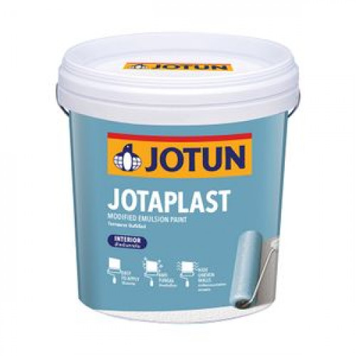 สีน้ำภายใน ด้าน JOTUN รุ่น JOTAPLAST ขนาด 9 ลิตร สีเบส A