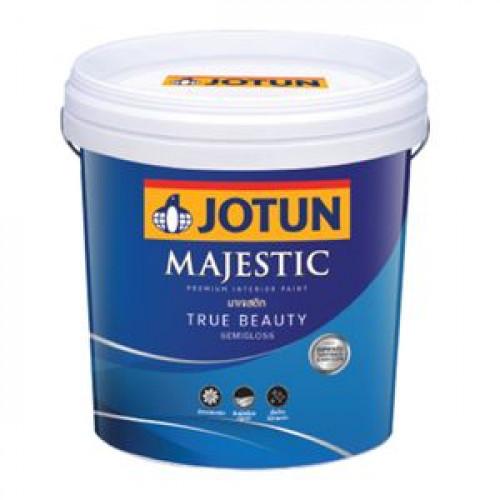 สีน้ำภายในกึ่งเงา JOTUN รุ่น MAJESTIC TRUE BEAUTY ขนาด 2.5 แกลอน สีเบส A