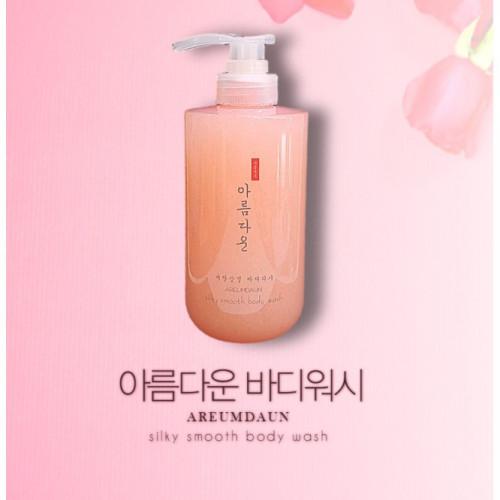 Areumdaun silky smooth body wash ขนาด 500ml