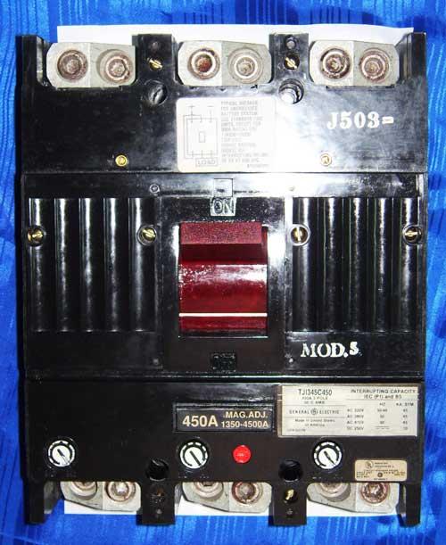GE (TJI345C450) 450 A  3 สาย