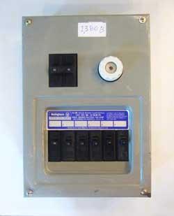 ตู้โหลดเบรกเกอร์ 6 ช่อง 2 สาย เวสติ้งเฮ้าส์ (C)