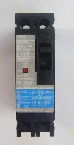 I-T-E Sentron Series Circuit Breaker 70แอมป์ 100 kA 2สาย  (C)