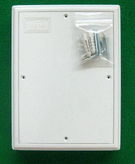 แผงพลาสติก PVC   สีขาว ยี่ห้อ Nano