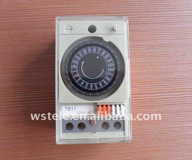 นาฬิกาไฟฟ้า  ตั้งเวลา ปิด-เปิดไฟบ้าน ได้ 24 ชั่วโมง