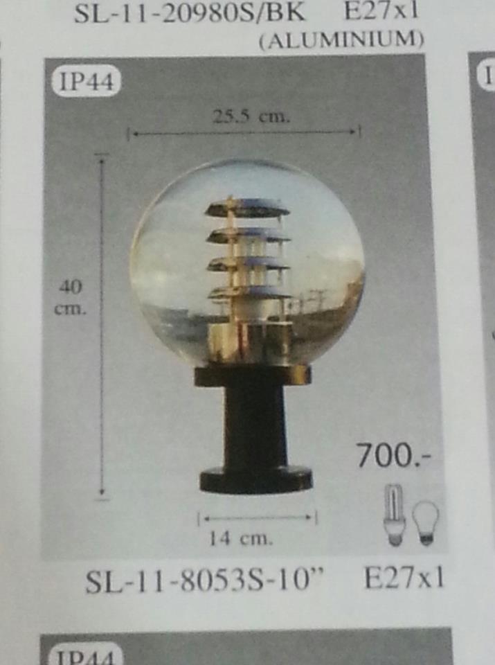 SL-10-8053W-10นิ้ว  หัวเสา (สินค้าต้องสั่งล่วงหน้า)