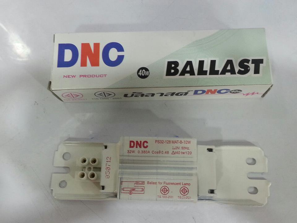 BALLAST   ยี่ห้อ DNC  มี มอก. รับรอง