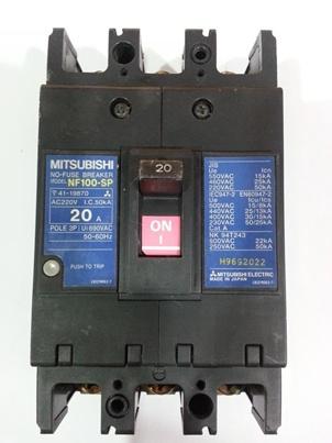 เบรกเกอร์ MTSUBISHI  NF-100SP   ขนาด 20A