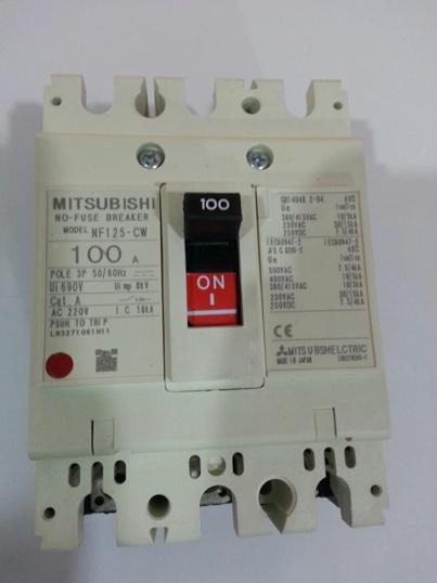 เบรกเกอร์ MTSUBISHI  NF-25-CW ขนาด 100A