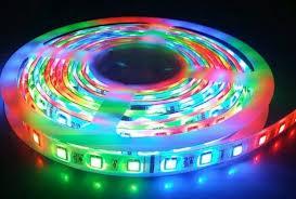 ไฟริบบิ้น แบบ LED มีทั้งเม็ดเล็กและเม็ดใหญ่ หลายสี