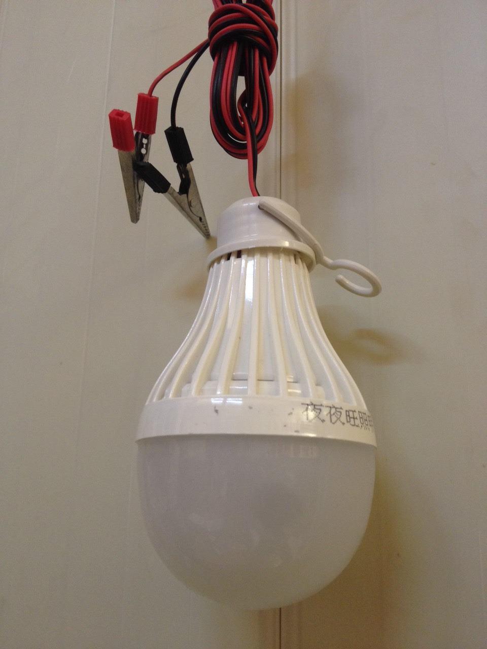 ไฟพกพา LED 7w 12v