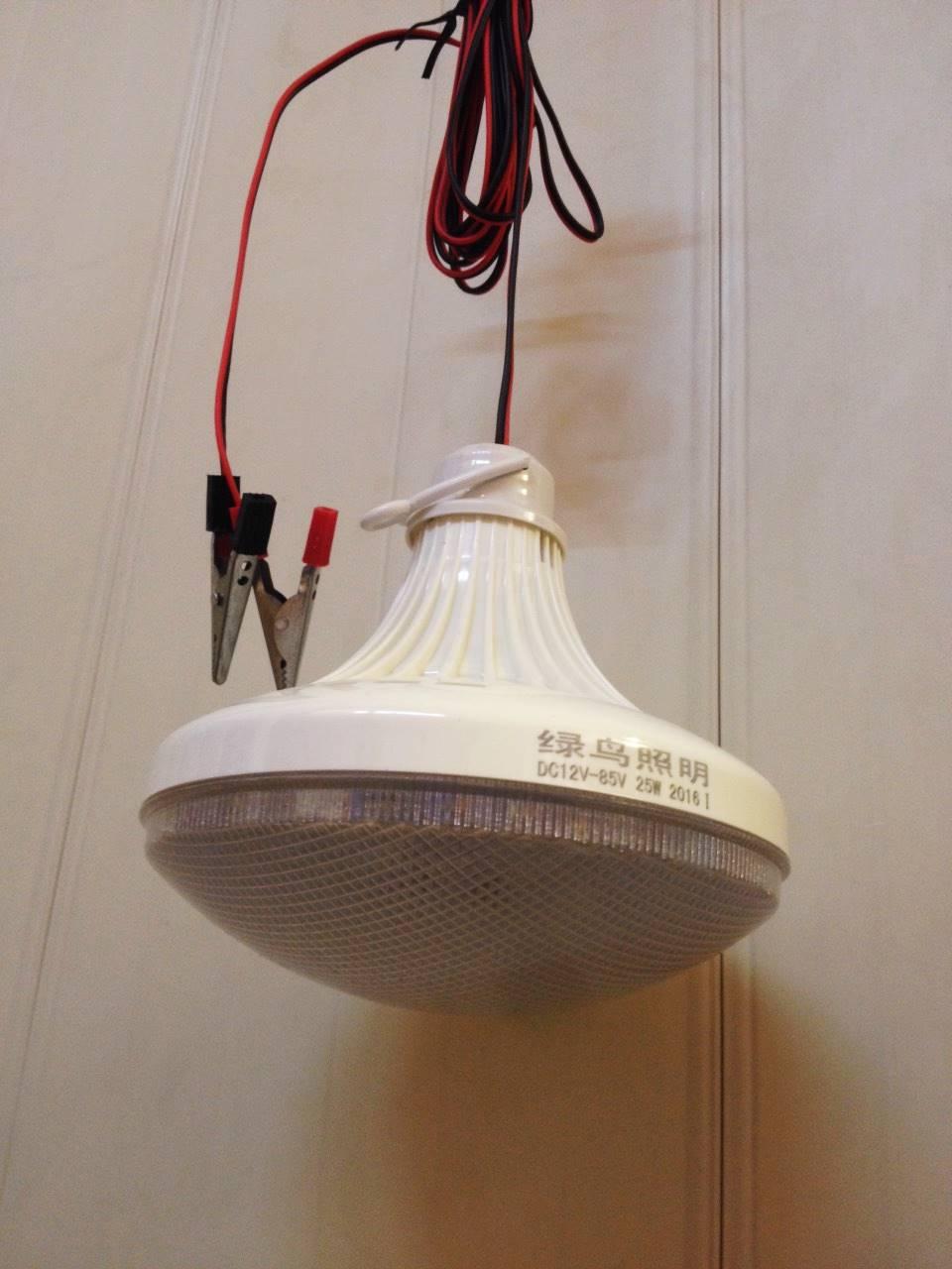 ไฟพกพา LED 7w 12v 1