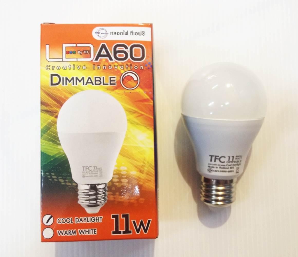 LED ดิมเมอร์ 11w สีเดย์-วอม ไฟดิมนิ่มมาก