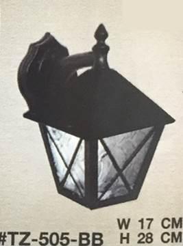 โคมไฟผนังภายนอก ขั้ว E27 2