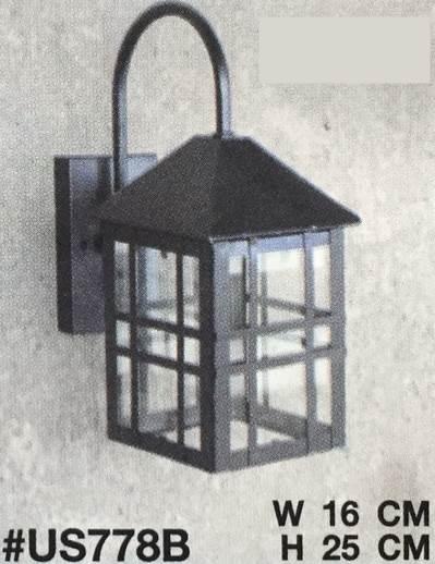 โคมไฟผนังภายนอก ขั้ว E27 3