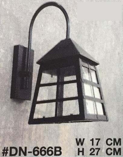 โคมไฟผนังภายนอก ขั้ว E27 4