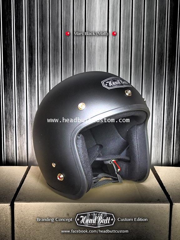 Headbutt Helmet / MATT Balck (สีดำด้าน)