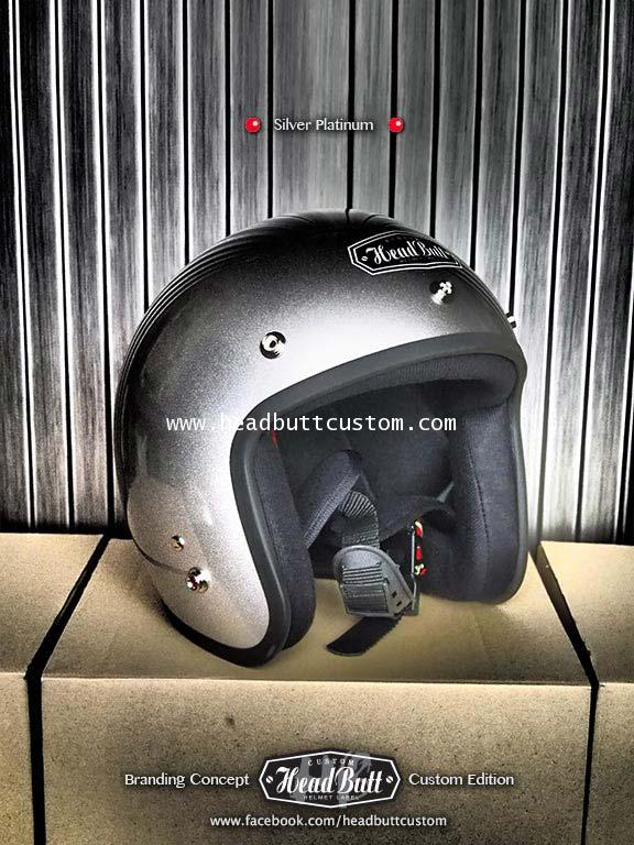 Headbutt Helmet / Silver (สีเงิน)