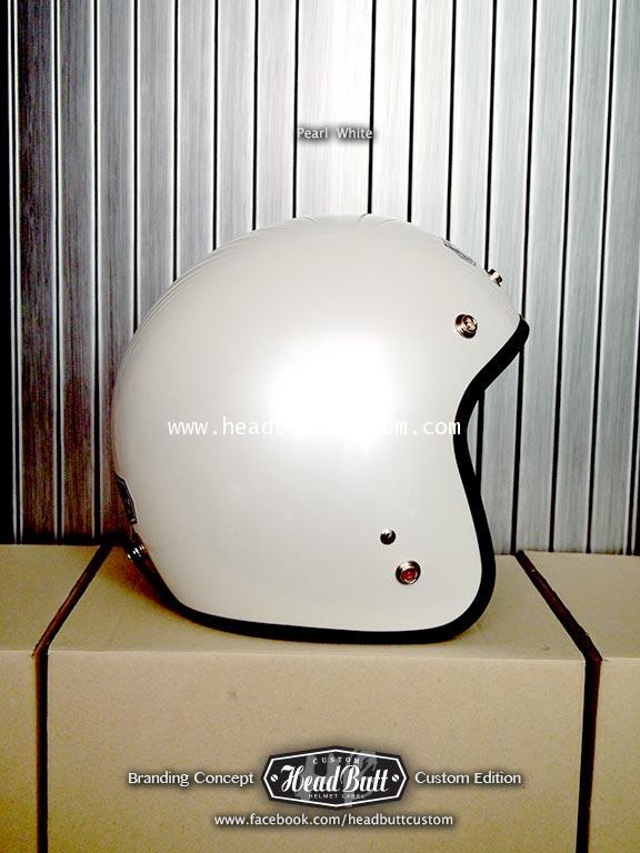 Headbutt Helmet / Pearl White (สีขาวมุก)