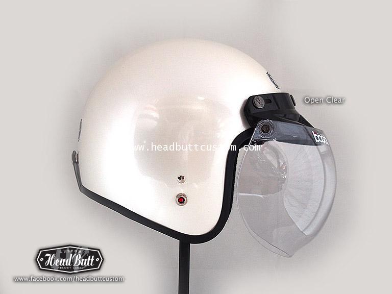 Bubble Shield - Clear Color (open up)