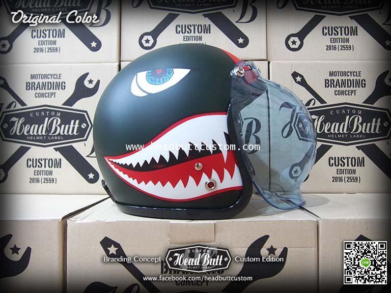 Shark Pilot Helmet