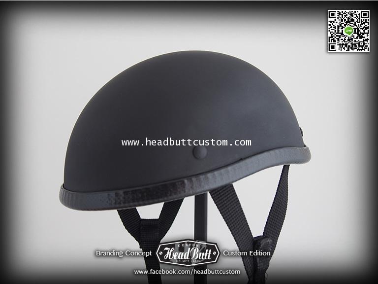 HB Half Helmet * Matt Black Color