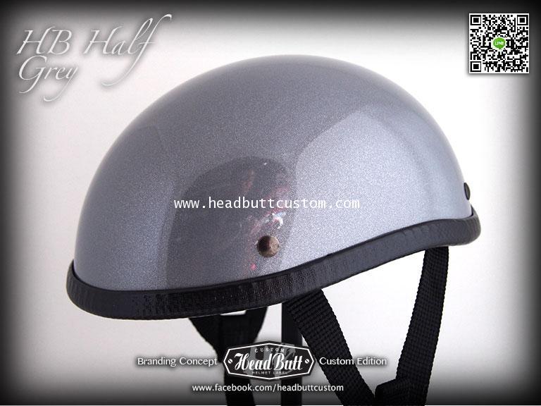 HB Half Helmet * Grey Color