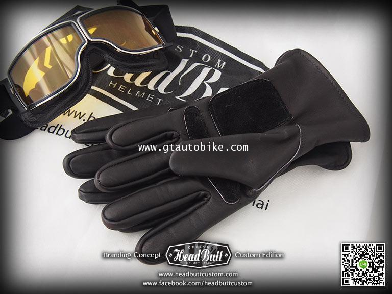NEW**Leather Gloves * Black Color