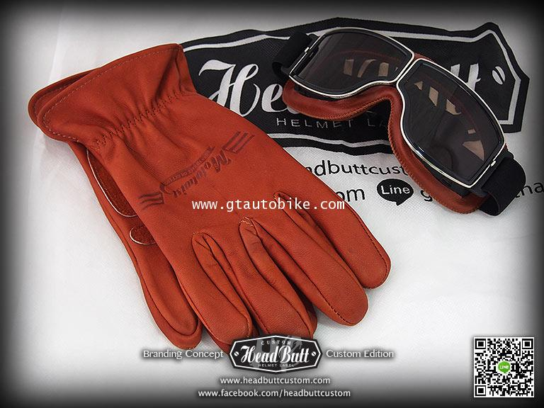 NEW**Leather Gloves * Brown Color