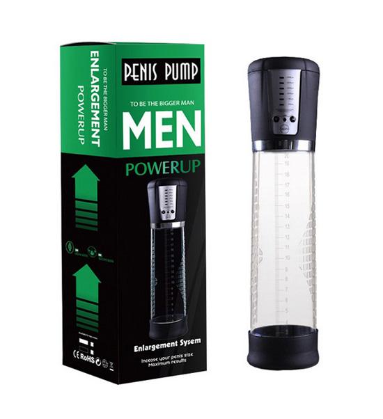 กระบอกสูญญากาศ อัตโนมัติ (กล่องเขียว) - Pennis Vacuum Pump Rechargeable
