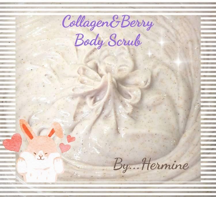 ครีมขัดผิวกายคอลลาเจนเบอร์รี่ Collagen Berry Body Scrub
