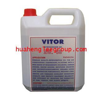 น้ำมันคอมเพรสเซอร์ VITOR NO.46 (R12,R22) ขนาด 4 ลิตร