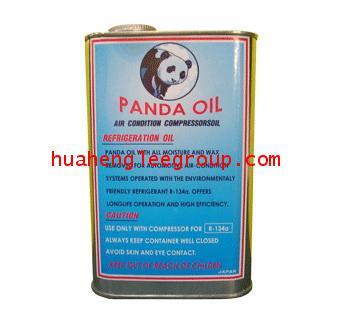 น้ำมันคอมเพรสเซอร์ PANDA R134a ขนาด 1 ลิตร