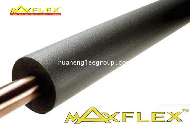 ยางหุ้มท่อ \'MAXFLEX\' ขนาดรู (ID) 7/8 นิ้ว หนา 3/8 นิ้ว