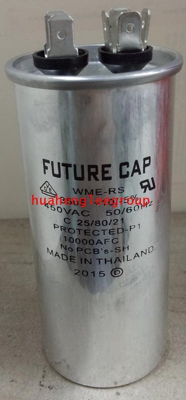 รันนิ่ง คาปาซิเตอร์ (แคปรัน) 35uF 450V \'FUTURE CAP\'