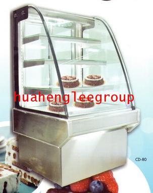ตู้แช่เค้ก สเตนเลส ขนาด 355ลิตร หน้ากว้าง 80 ซม. รุ่น CD-80 \'MIRAGE\'